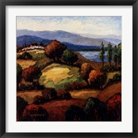 Golden Hills I Framed Print