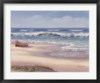 Sandpiper March II Framed Print