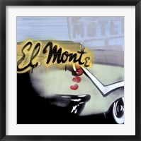 Framed El Monte I