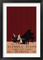 Framed Le Pianola