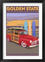 Framed Golden State