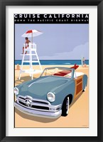 Framed Cruise California
