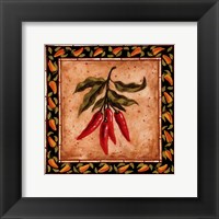 Chiles I Framed Print