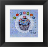 Butter Cream Framed Print