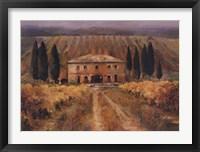 Framed Toscana Vigna