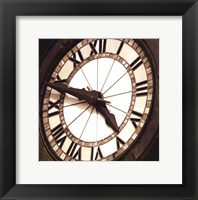 Clock II Framed Print