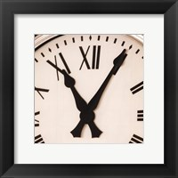 Clock III Framed Print