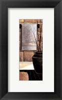 Modern Bath Elements IV Framed Print