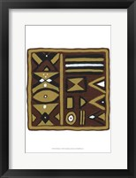 Framed Tribal Rhythms I