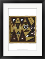 Framed Tribal Rhythms II