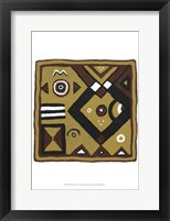 Framed Tribal Rhythms III