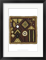 Framed Tribal Rhythms IV