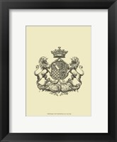 Heraldry I Framed Print