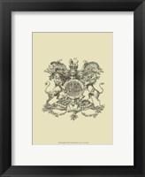 Heraldry II Framed Print