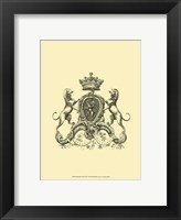 Heraldry III Framed Print