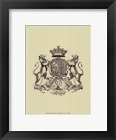 Heraldry IV Framed Print