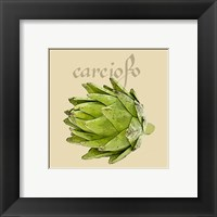 Italian Vegetable VIII Framed Print