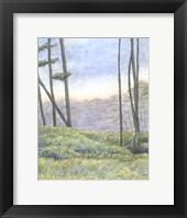 Framed Tranquil Horizon II