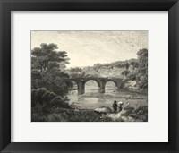Framed Canoby Bridge