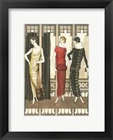 Art Deco Elegance I Framed Print