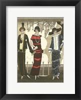 Art Deco Elegance II Framed Print