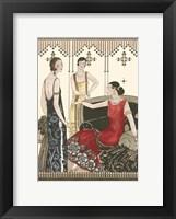 Art Deco Elegance IV Framed Print