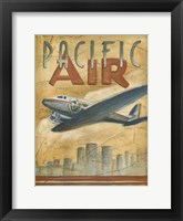 Framed Pacific Air
