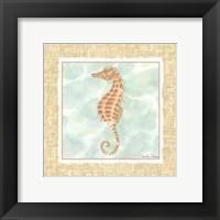 Ocean Seahorse Framed Print