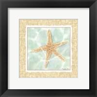 Ocean Starfish Framed Print