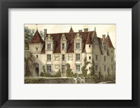 Petite French Chateaux VI Framed Print