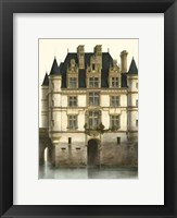 Framed Petite French Chateaux XI