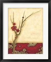 Crimson Branch II Framed Print