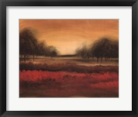 Framed Printed Mcintire Grove I