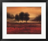 Framed Printed Mcintire Grove II