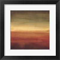 Framed Abstract Horizon II