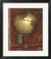 Journey's Beginning I Framed Print