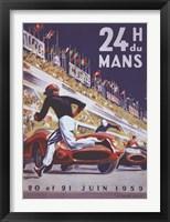 Framed 24H Du Mans