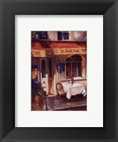 Along The Quai, Paris Framed Print