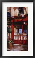 Left Bank Bistro Framed Print