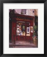 Le Livre Ouvert, Paris Framed Print