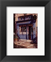 Le Petit The, Paris Framed Print