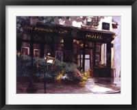 A Small Hotel, Paris Framed Print