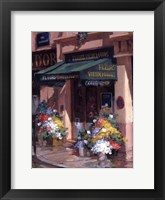 Fleurs Au Soleil, Paris Framed Print