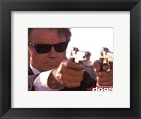 Framed Reservoir Dogs - Mr White Guns