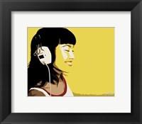 Framed Dj Girl