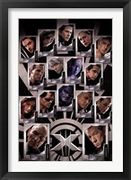 Framed X Men - Last Stand - Team
