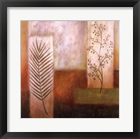 Framed Abstract Foliage I