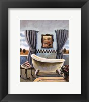 Framed Vintage Bath II
