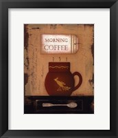 Framed Morning Coffee