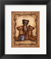 Framed Bear Wisdom